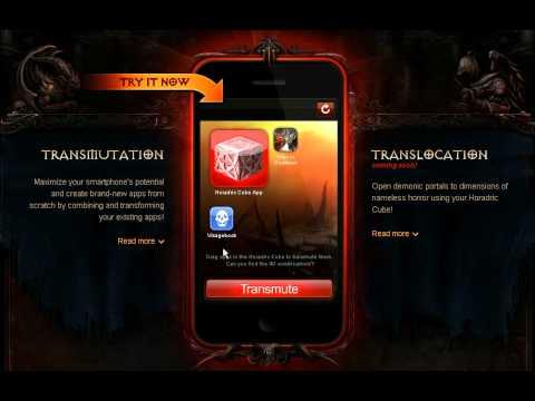 Smartphone's Horadric Cube - April Fool's Day (Diablo 3)