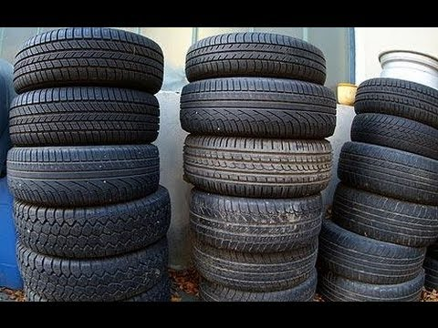 How to check the age of CAR TYRES