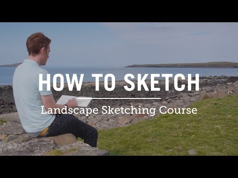 How to Sketch the Landscape Course