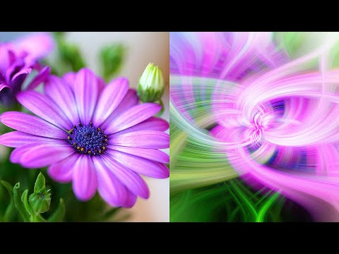 How to create abstract Twirl Art Effects in Photoshop