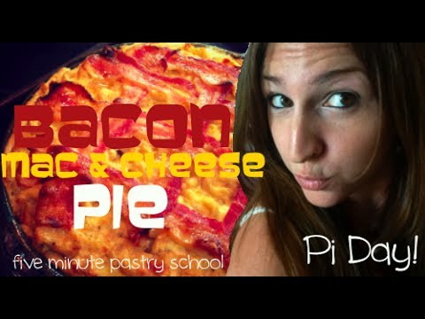 Bacon Mac & Cheese Pie | Five Minute Pastry School
