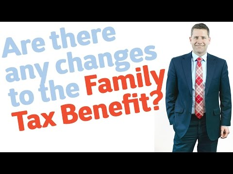 12 Are there any changes to the Family Tax Benefit?