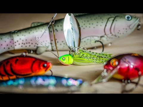Top 5 Baits For Early Spring Bass Fishing
