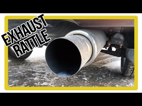 How to Fix Exhaust Rattle - Rattle Noise on Startup/Idle/Acceleration