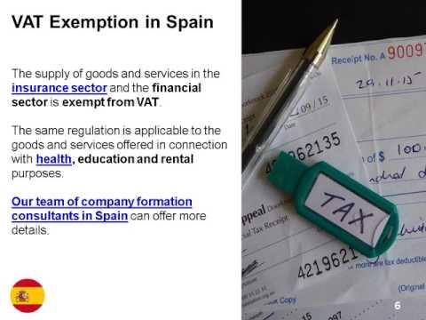 VAT in Spain