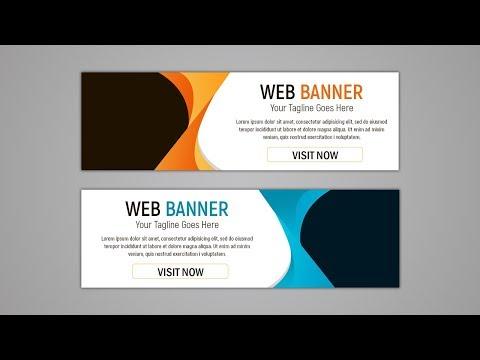 Web Banner Ads Design Tutorial in Photoshop