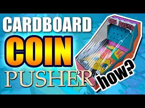 Making a Cardboard Coin Pusher | Yowawerts' ARCADE GAME