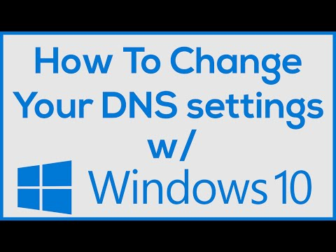 How to Change DNS on Windows 10