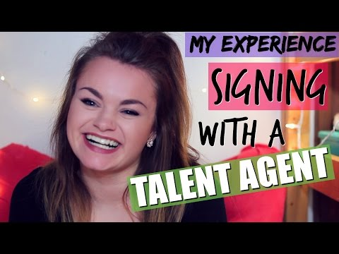 My Experience Signing With a Talent Agency!