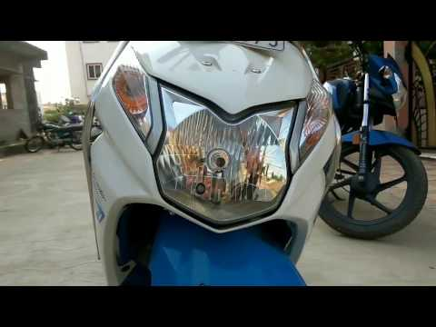 Honda Dio 2016 walk around (blue white)