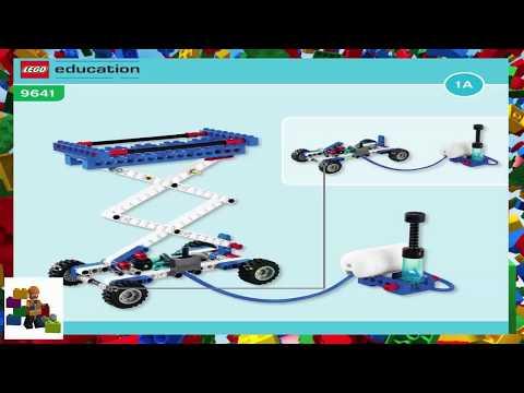 LEGO instructions - Education - 9641 - Scissors Lift