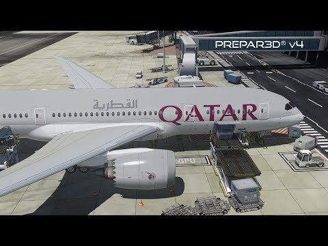 Prepar3D v4 3 | Cape Town to Doha | FACT-OTHH | QualityWings