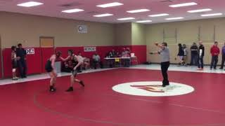 Wrestling- Dale Keith Tourney 3rd place eliminator 2/3/18