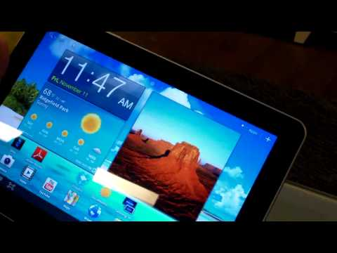 Samsung Galaxy Tab - Smart View (Dual Screen with TVs)