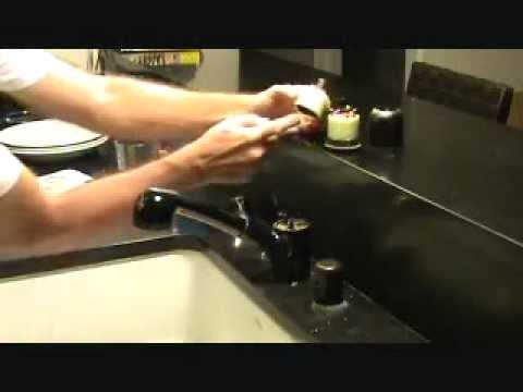 How to repair an American Standard kitchen faucet...Part 1