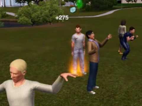 The Sims 3-Transforming To Werewolf
