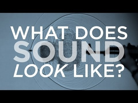 Como seria se tivéssemos a capacidade de visualizar o som?