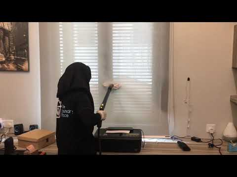 TLP: Roller Blind Steam Cleaning