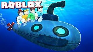 Roblox Adventures - ATTACK WITH AN UNDERWATER SUBMARINE IN ROBLOX! (Submarine War)