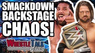 AJ Styles Vs. Jinder Mahal Backstage WWE Smackdown Details!   WrestleTalk News Nov. 2017