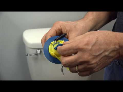 Max Saver Flapper Water Saving Flapper Installation Video
