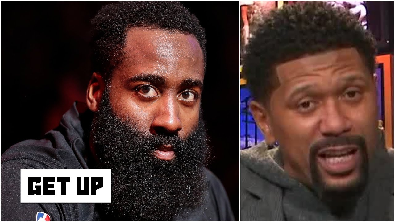Jalen Rose's advice to Harden: Show up on time, be in shape & answer the media's questions | Get Up