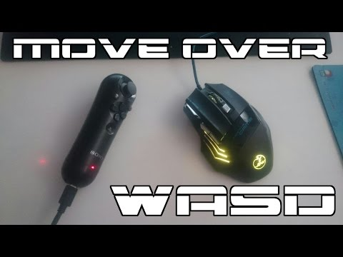 MOVE over WASD! FPS alternative controls.