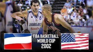 🔴 - Yugoslavia v USA - Classic Full Games | FIBA Basketball World Cup 2002
