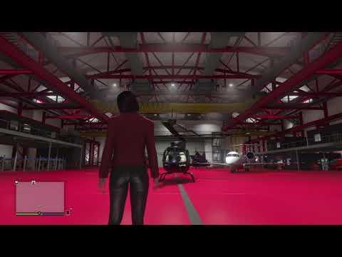 GTA V Online Smuggler's Run Hangar Style Options