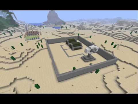 Minecraft timelapse: Military base