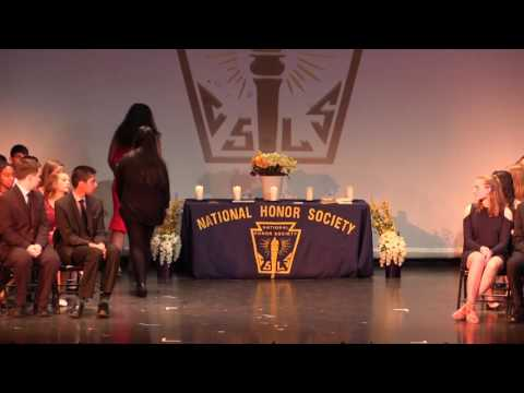 National Honor Society Induction Ceremony - 2017
