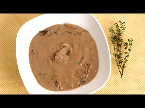Homemade Cream of Mushroom Soup Recipe - Laura Vitale - Laura in the Kitchen Episode 825