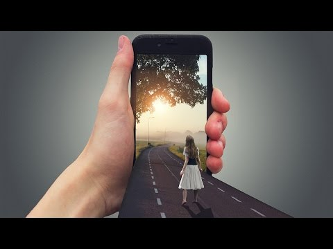 How to Create 3D Mobile Effect | Photoshop Tutorial