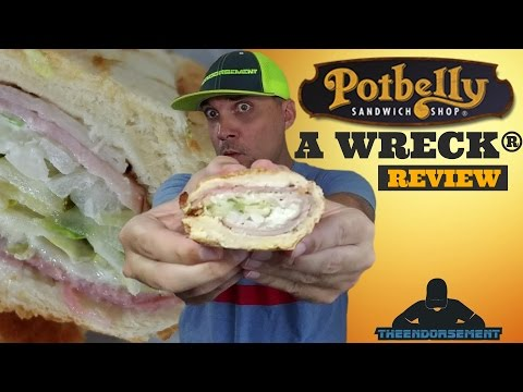 POTBELLY SANDWICH SHOP® REVIEW #299 - A WRECK®