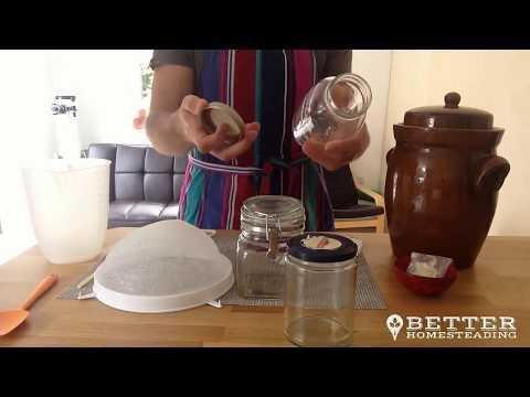 How To Make Kefir Milk 101 Part 1 - Equipment