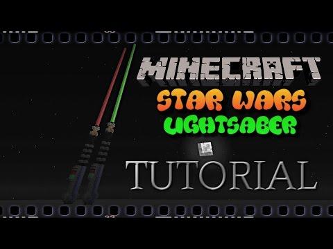 ✔️ MINECRAFT TUTORIAL: STAR WARS LIGHTSABER PIXEL ART 3D (Jedi)