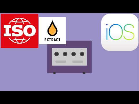 How to extract the iso files to play GameCube games on your iOS device!!!