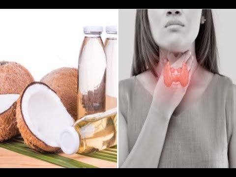 How to Treat Thyroid Problems With Coconut Oil