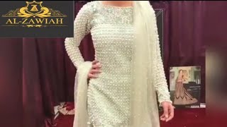 7f8faef103 Latest Designer Wedding And Party Wear Suits, Lehenga And Gown Designs  Alzawiah Order(+