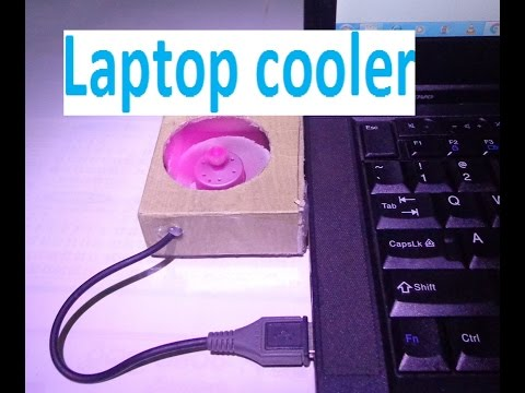 how to make a laptop cooling