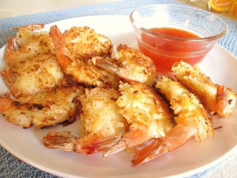 Coconut Shrimp - Battered with Tempura, Rolled and Fried in Coconut - PoorMansGourmet