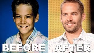FAST AND FURIOUS STARS BEFORE AND AFTER BECOMING FAMOUS