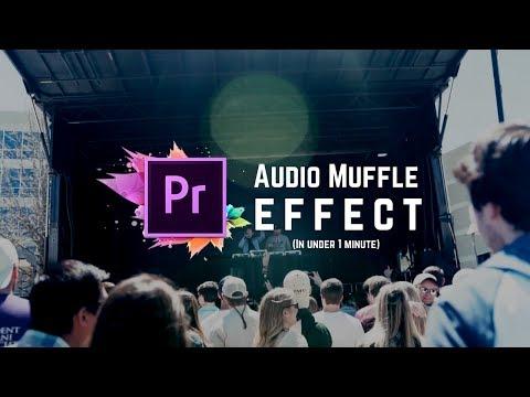 (:60 Second Tutorial) Adobe Premiere Pro CC: Audio Muffle/Underwater Effect (Sam Kolder, ValDays)