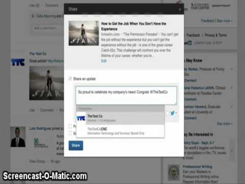 Tips To Promote LinkedIn Company Page