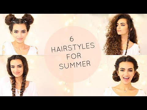 HOT HAIRSTYLES FOR CURLY HAIR or ANY HAIR!
