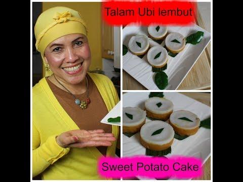 How to make Sweet Potato Cake/Talam Ubi lembut