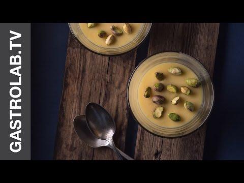 White Chocolate Cream with Pistachios    Around the World: French Riviera    Gastrolab