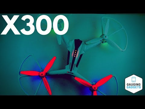 Metakoo X300 Quadcopter Drone Review - Video Test