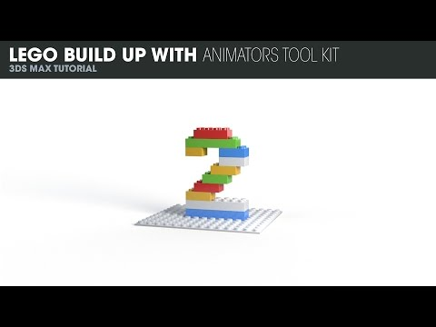 Lego Build Up With Animators Toolkit in 3DS Max