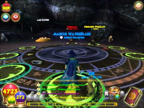 WIzard101 Level 78 Ice pet quest(Wooly mammoth pet) HD